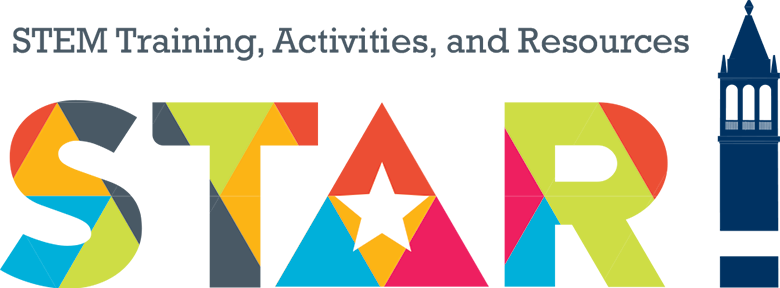 STAR: STEM Training, Activities, and Resources logo